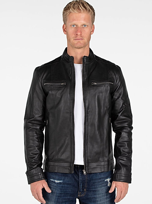 Wilson Mens Leather Jacket - Clearance