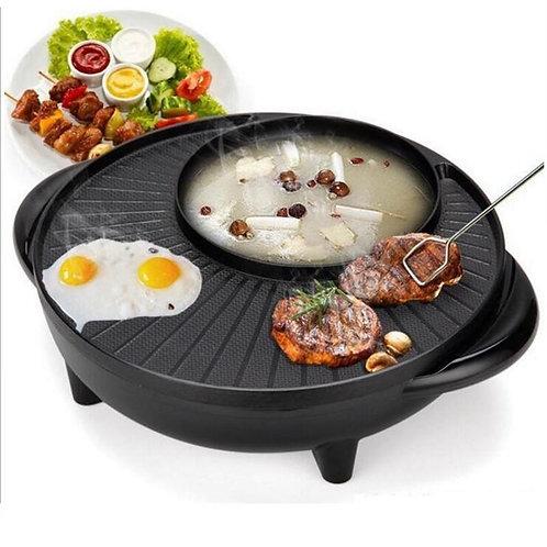 Korean electric heat pan stone electric roasting pan boiling and