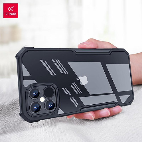 For iPhone 12 Mini 12 Pro Max Case ,Xundd Shockproof Case Transparent