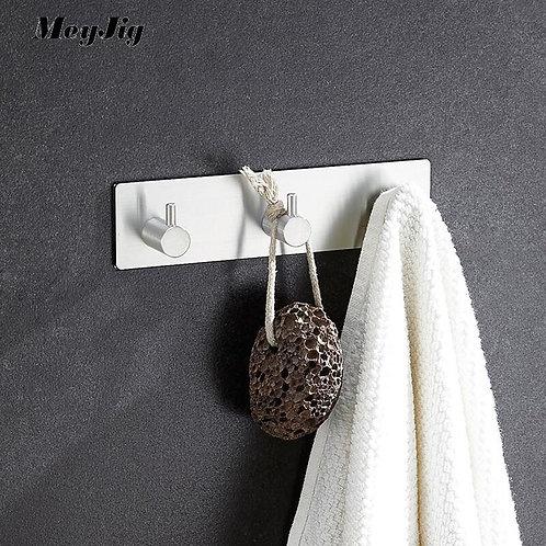 Kitchen Bathroom Rustproof Towel Hooks 3M Stick