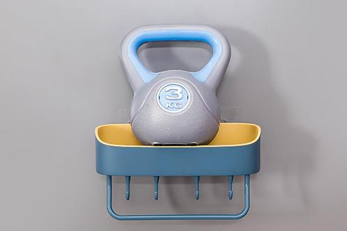 Universal Wall mounted rack Punch-free