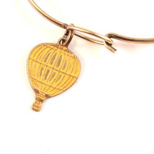 Hot Air Balloon Bracelet or Necklace