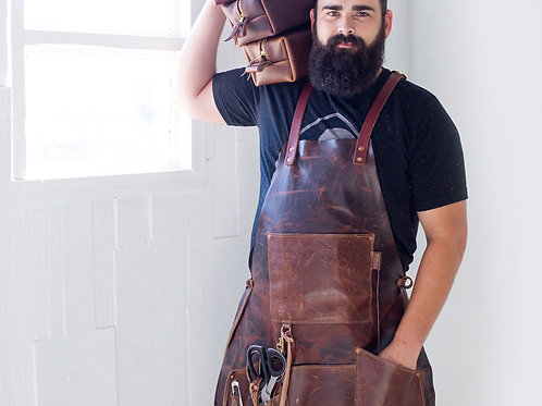Leather High End/Quality workers Apron