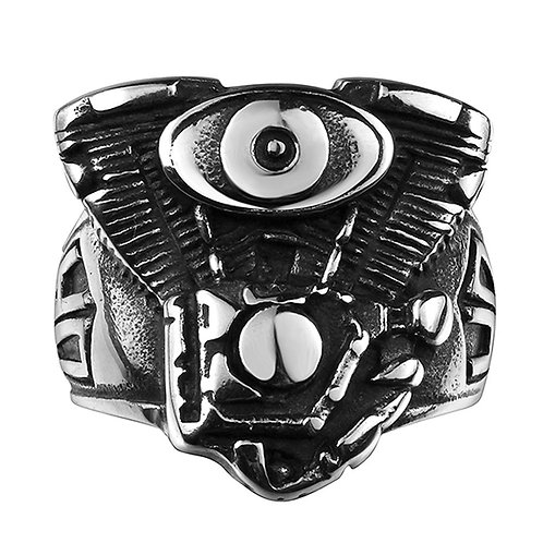 Harley Crate Engine Men's Ring