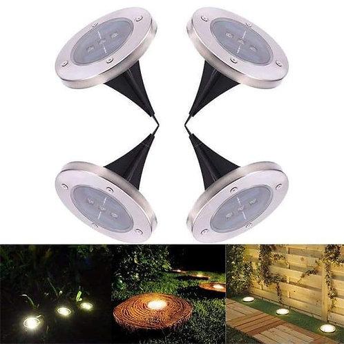 Waterproof Solar Powered LED Garden Lawn Lights (Warm white)