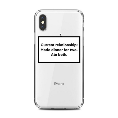 Current Relationship Status Phone Case