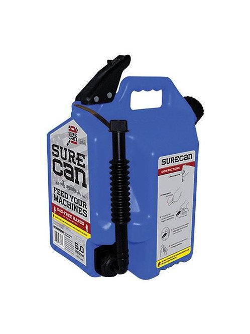 SureCan Child Proof Cap Plastic Kerosene Can 5 gal.