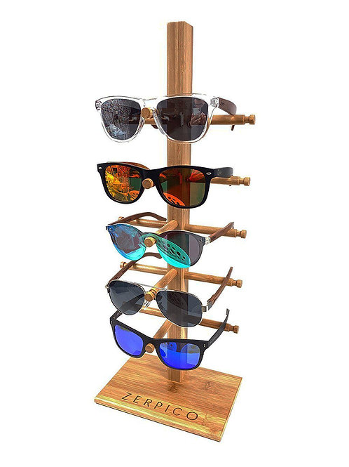 Small Wooden Sunglasses Display