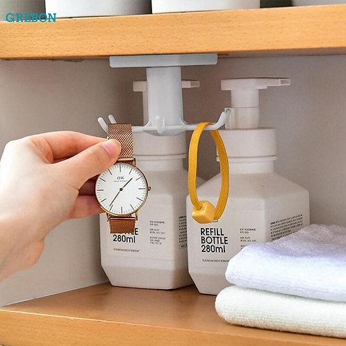 kitchen hook organizer bathroom hanger