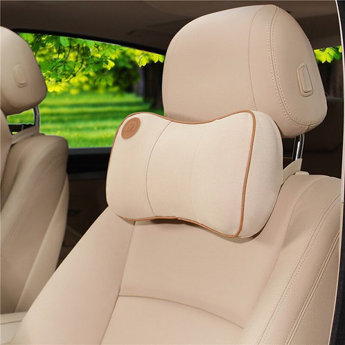 Car Pillow Seat Head Supports Memory Cotton Head