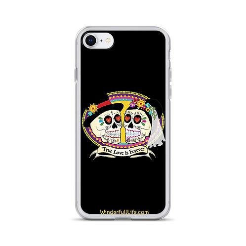 Lover Skulls iPhone Case