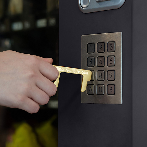 Brass Key- Touchless entry and tasks