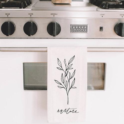 Nurture Wildflower Tea Towel