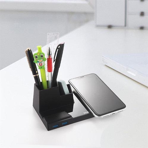Qi Fast USB3.0 Wireless Charging 10W Penholder