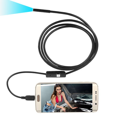 7mm Lens USB Endoscope Camera Waterproof Wire