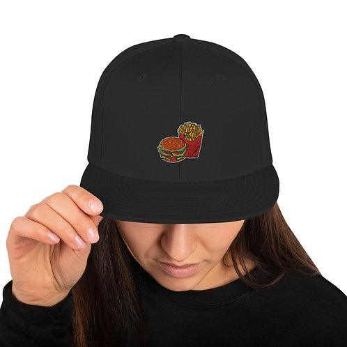 Burgens & Fries Snapback Hat