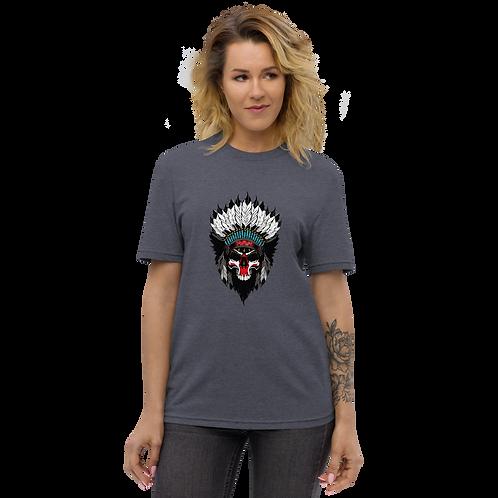 Battle Headdress Ladies recycled t-shirt