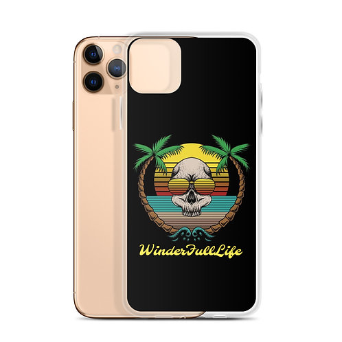 Skull Summer iPhone Case