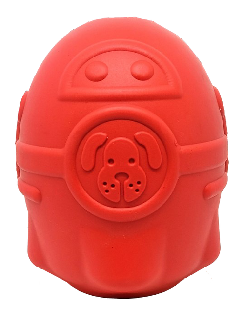SN Rocketman Durable Rubber Treat Dispenser & Chew Toy