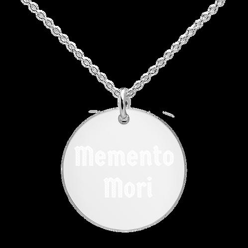 unisex Memento Mori Necklace