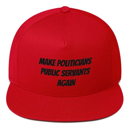 Make Politicians Public Servants Again