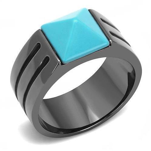 Men Turquoise Ring