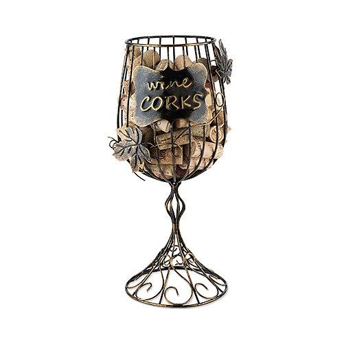 Wine Glass Cork Display