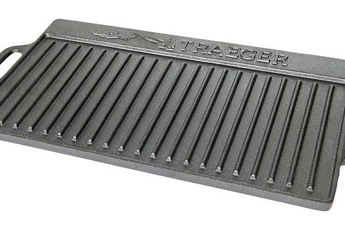 Traeger  9-1/4 in. W Cast Iron  Reversible Griddle