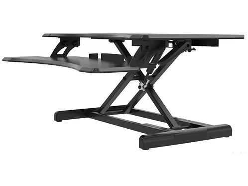 Premium Adjustable Height Standing Desk Black