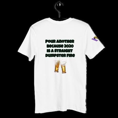 2020 is a dumpster fire Pocket T-Shirt