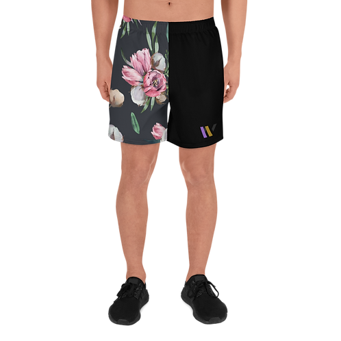 Men's Athletic Floral Shorts