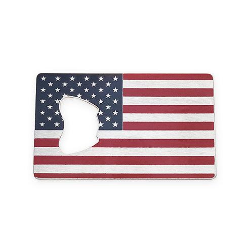 USA Flag Bottle Opener