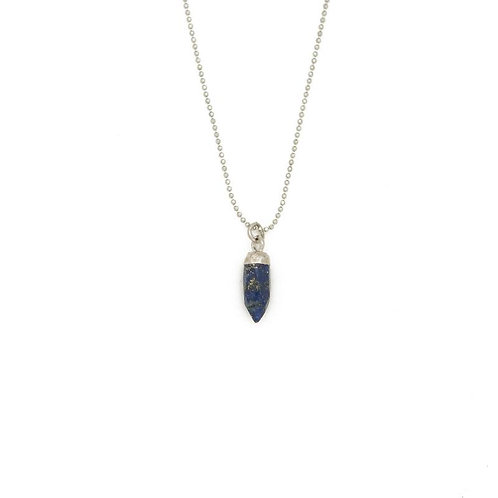 Gemstone Spike Necklace
