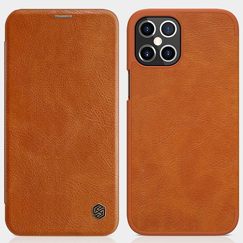Flip Cover For Apple iPhone 12 Pro Max Leather Back Cover Card Pocket