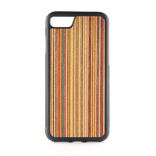 Recycled Skateboards wood iPhone case