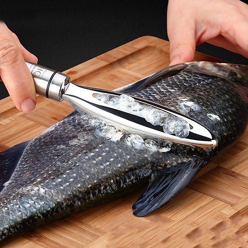 stainless fish scale tool