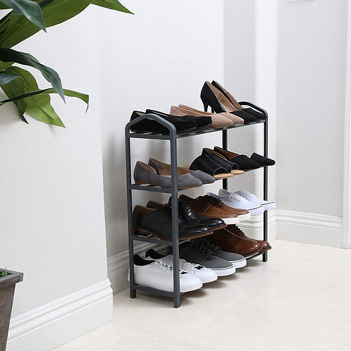 4 Tier Steel Shoe Rack