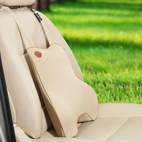 Car Pillow Car Back Waist Lumbar Pillow Cushion