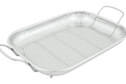Grill Mark Grill Basket Stainless Steel for veggies or open flame cook