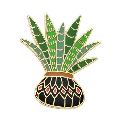 Aloe Vera Plants Enamel Lapel Pins