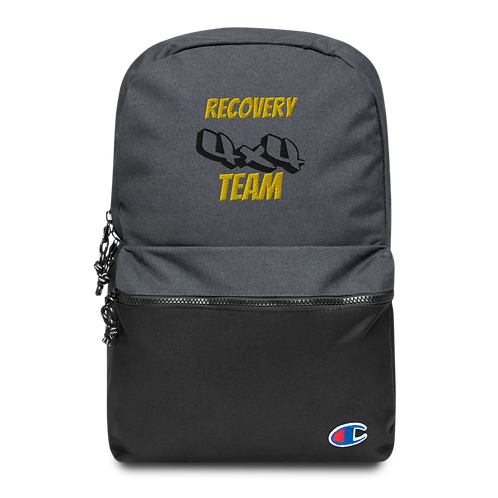 Team 4x4 Embroidered Champion Backpack