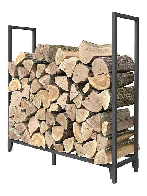 Panacea Black Powder Coated Steel Log Rack