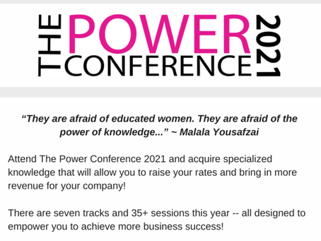 Don't Miss The Power Conference 2021