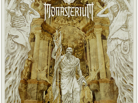 MONASTERIUM to release sophomore opus on May 6, 2019