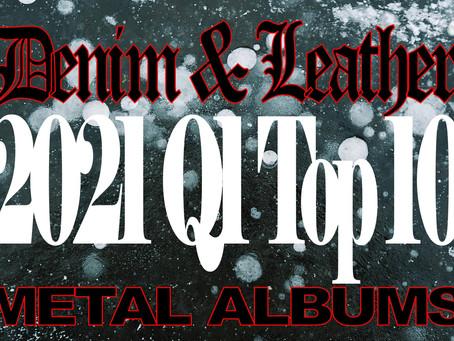 2021 D&L Q1 Top 10 Metal Albums