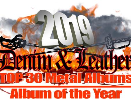 2019 TOP 30 METAL ALBUMS