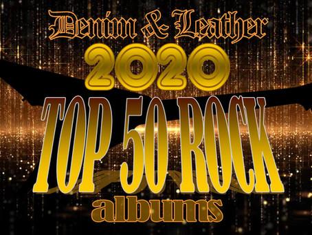 2020 TOP 50 ROCK ALBUMS