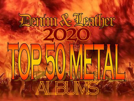 2020 TOP 50 METAL ALBUMS