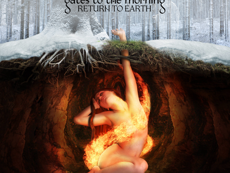 """GATES TO THE MORNING to finally unleash their epic debut album """"Return To Earth"""", on July 19th 2019"""