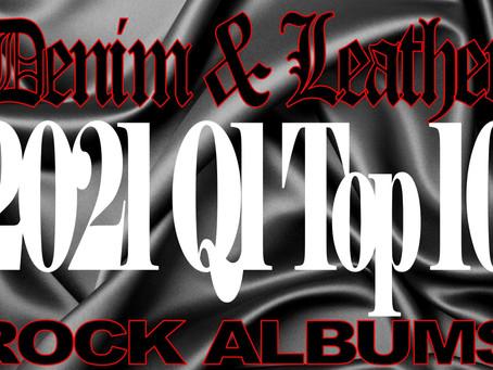 2021 D&L Q1 Top 10 Rock Albums